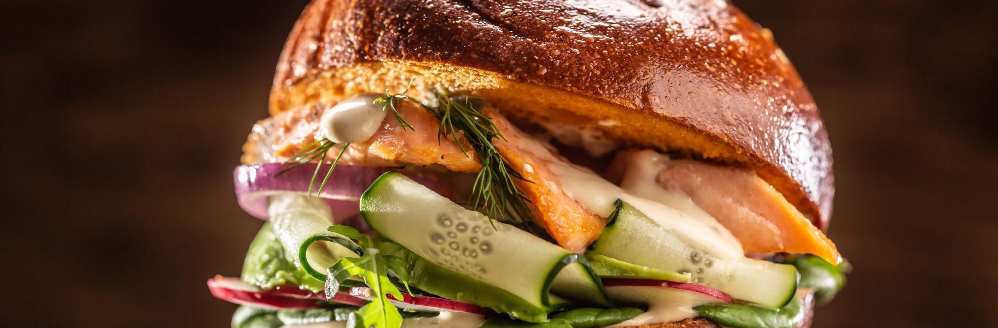 Love Burger de Saumon Fumé